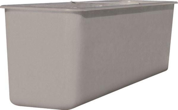 Großbehälter 4500 l, grau