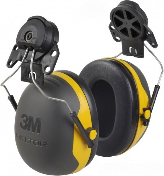 Kapselgehörschützer X2p3e mit Helmbefestigung