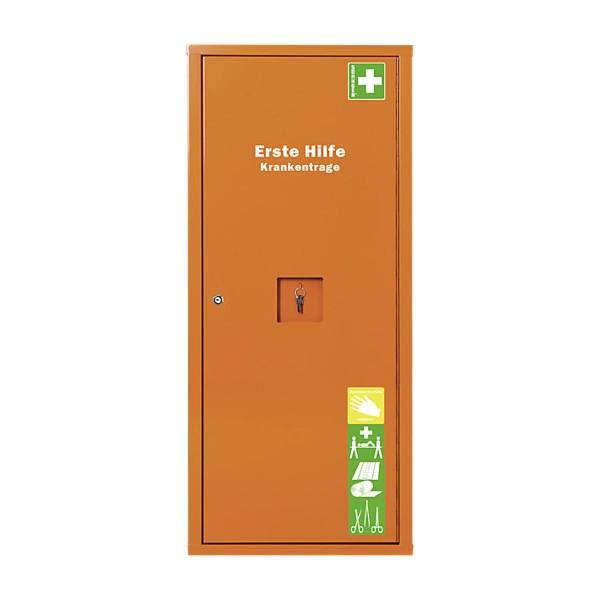 Anbausafe Erste-Hilfe-Trage orange gefüllt