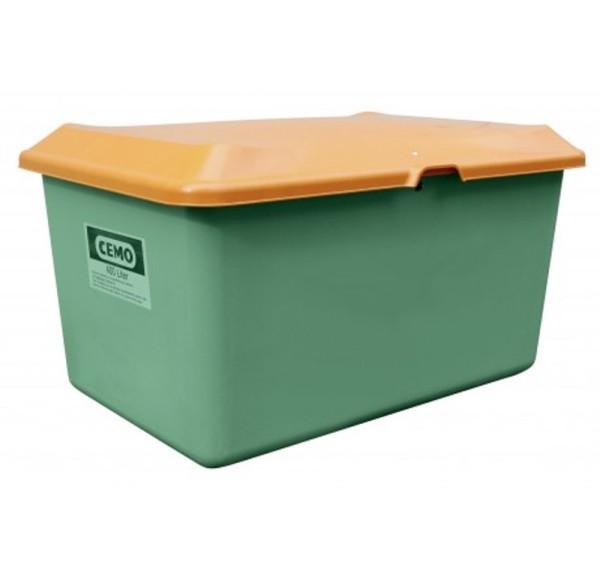 Streugutbehälter 400l Plus3 grün/orange