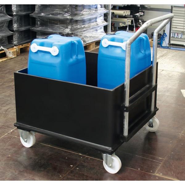 Mobile Kunststoff-Auffangwanne ME-W1