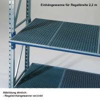 Regal-Einhängewanne Typ RA 22/11 verzinkt