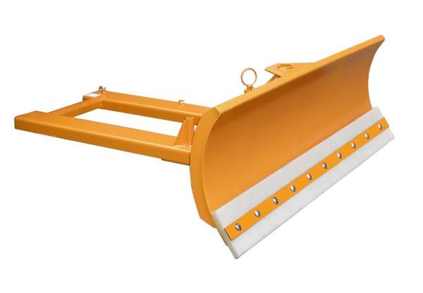 Schneeschieber SCH-V 150, lackiert, gelborange