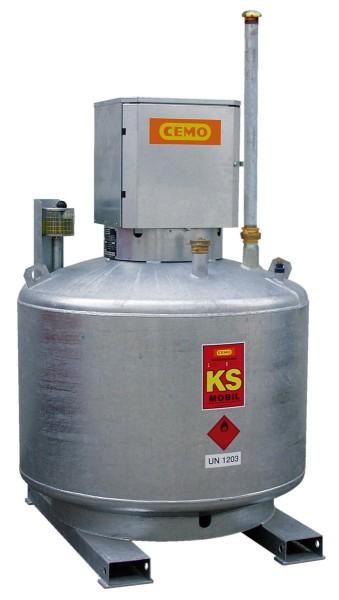 Mobile Kraftstofftankanlage Typ KS-Mobil 980l