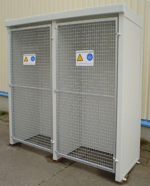 F-SAFE Brandschutz Gasflaschenlager aus Stahl