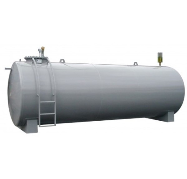 Stahltank 7500l, doppelwandig nach DIN 6616/D