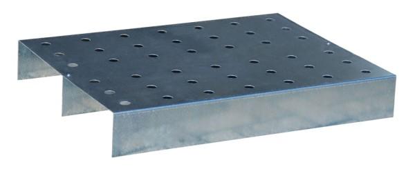 Lochblech-Rost aus verzinktem Stahl