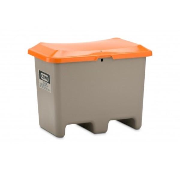 Streugutbehälter 200l Plus3 grau/orange