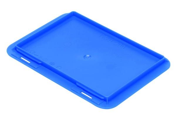 Auflagedeckel TK/200 A, blau aus Polypropylen