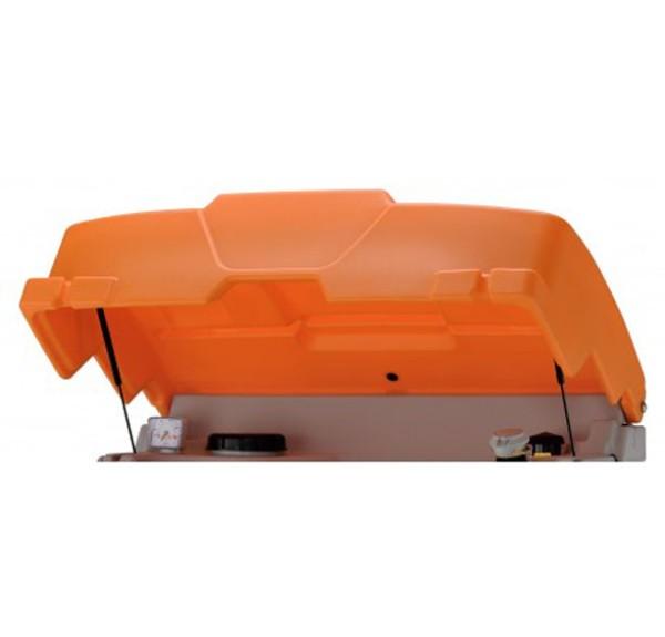 Klappdeckel, orange
