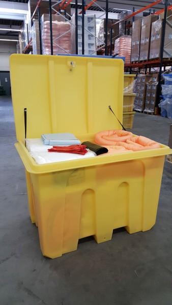 Ölbindemittel Notfallset Transportbox