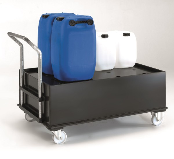 Mobile Kunststoff-Auffangwanne ME-PO2