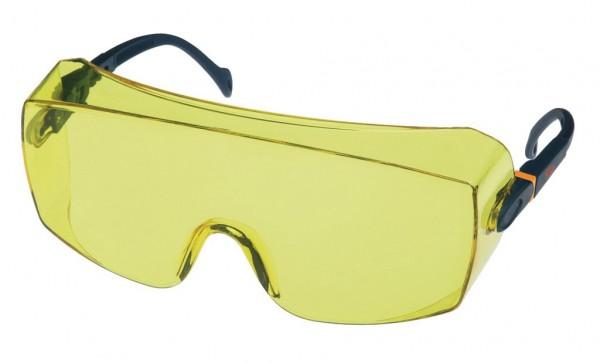 Überbrille / Schutzbrille 2802 AS, UV, PC, gelb
